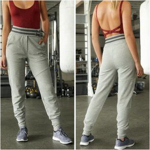 NWT Free People Movement Off Road Gray Joggers M